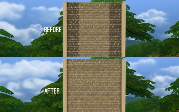 Mod The Sims: Corner Fix for IndustryMatters Wall by FakeHouses|RealAwesome