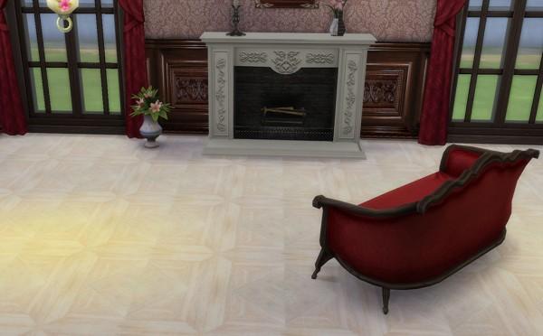 Sims Creativ: Floor wood Renaissance by HelleN