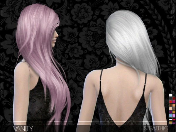 The Sims Resource: Vanity hairstyle by Stealthic
