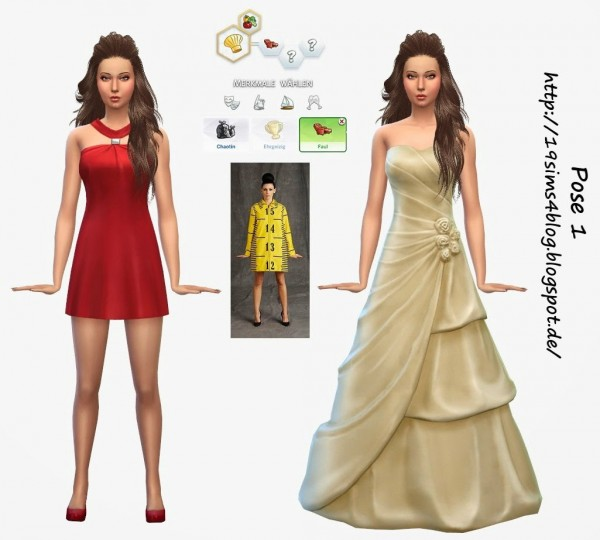 19 Sims 4 Blog: Pose 1