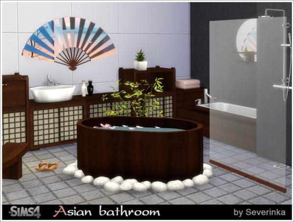 Sims by Severinka: Asian bathroom