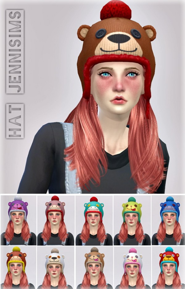 Jenni Sims: Hats Base Game compatible Outdoor Retreat conversion of child