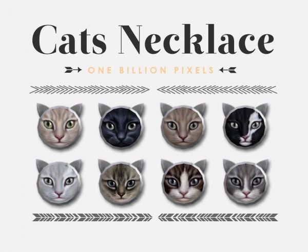 One Billion Pixels: Cats Necklace