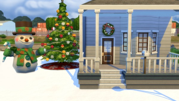 Mod The Sims: Snow Terrain Paint by orangesmasher221