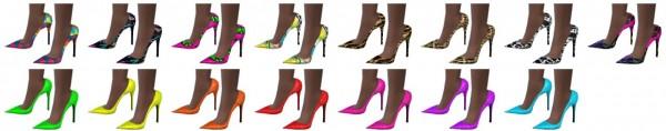 Miss Paraply: Madlen Mazel Shoes recolors part 3