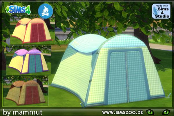 Blackys Sims 4 Zoo Karo Leinen tent by mammut ... & Blackys Sims 4 Zoo: Karo Leinen tent by mammut u2022 Sims 4 Downloads