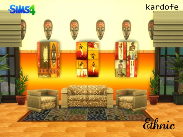 The Sims Resource: Ethnic by kardofe