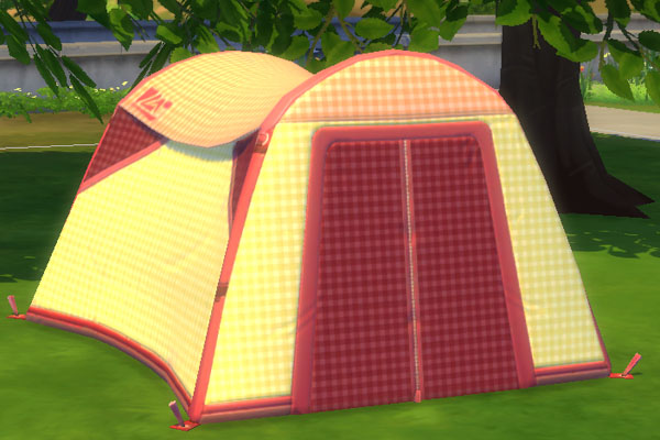 Blackys Sims 4 Zoo Karo Leinen Tent By Mammut Sims 4