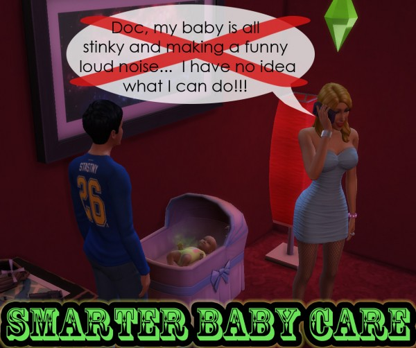Mod The Sims: Smarter Baby Care by scumbumbo