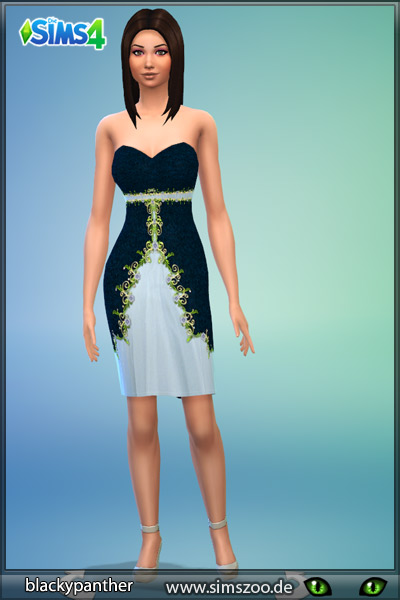 Blackys Sims 4 Zoo: Spring dress by blackypanther