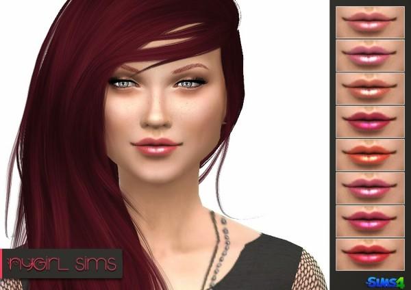 NY Girl Sims: Lipstick N02