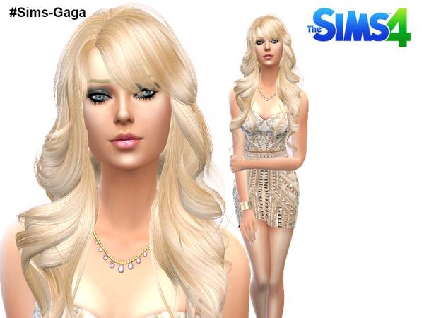 The Sims Resource: Modern Dress by Sims Gaga