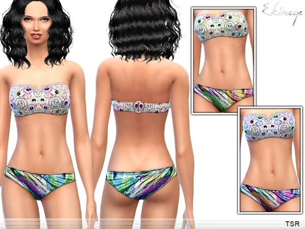 The Sims Resource: Swimwear 1   Set6 by Ekinege