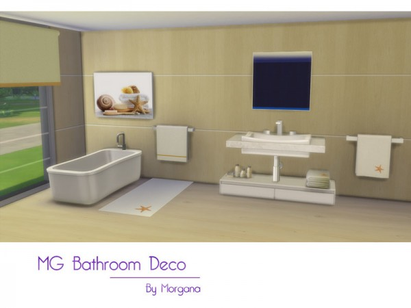 The Sims Resource: Bathroom Deco  by Morgana14