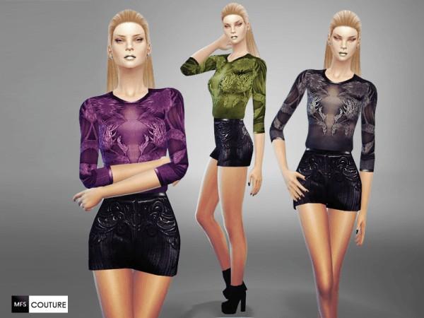 MissFortune Sims: Semi Transparent Romper