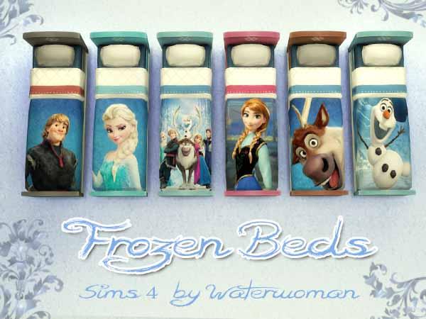 Akisima Sims Blog: Frozen Kids Bed