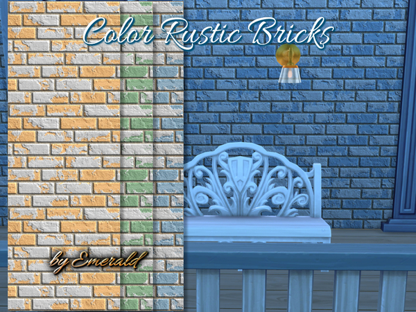 The Sims Resource: Color Bricks by Emerald