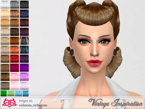 The Sims Resource: Victory Rolls 03  by Colores Urbanos