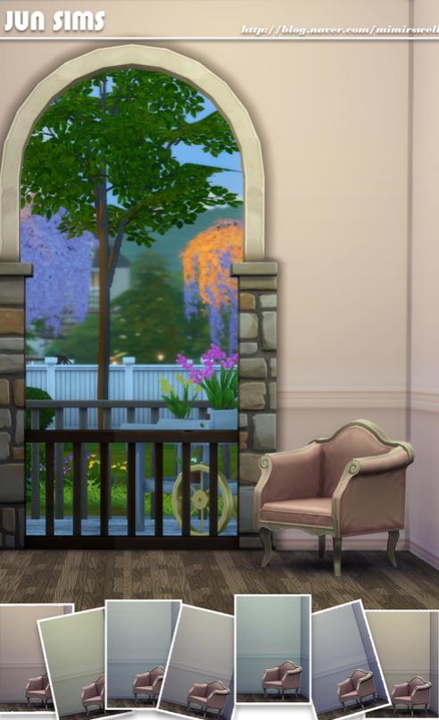 JUN Sims: Wall paint01