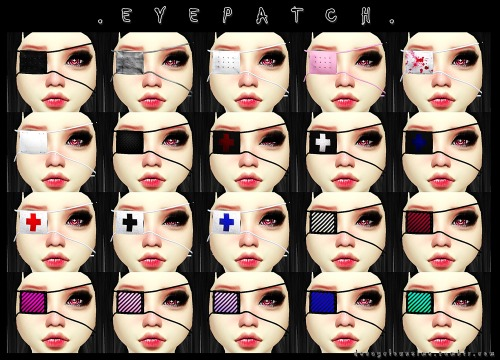 Decay Clown Sims Eyepatch Sims 4 Downloads