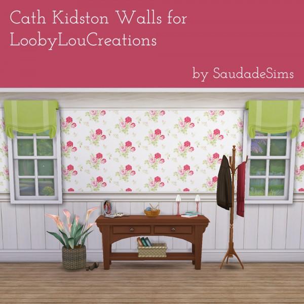 Saudade Sims: Cath Kidston walls