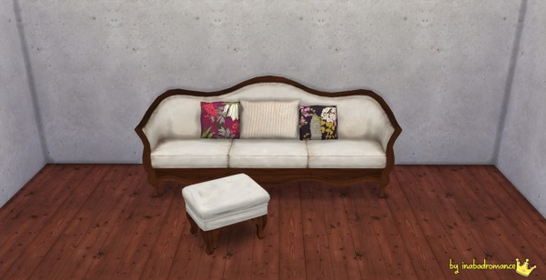 In a bad romance: Sofa & Kaelan Ottoman