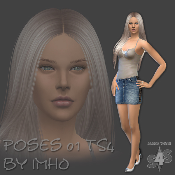 IMHO Sims 4: 8 Poses 01