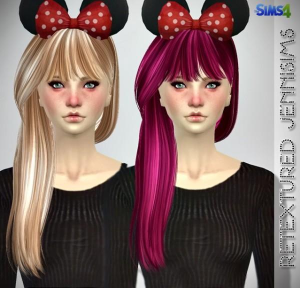 Jenni Sims: Butterflysims 099,132,136 Hairs retextured