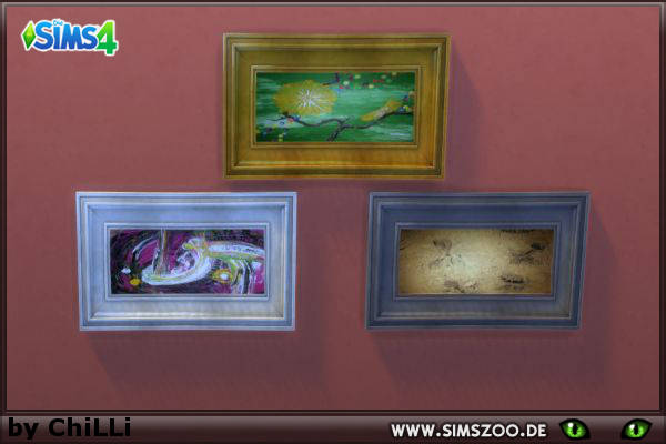 Blackys Sims 4 Zoo: Acryl paintings 2 by ChiLLi