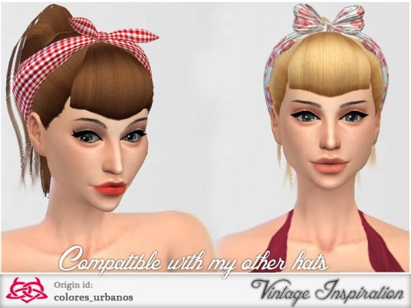 how to create fake bangs