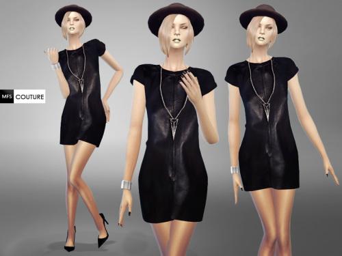 MissFortune Sims: Olivia Dress