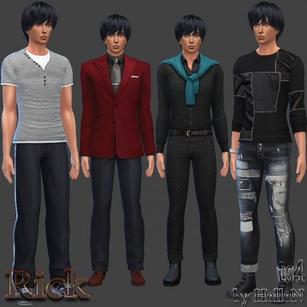 Sims Creativ: Rick sims model