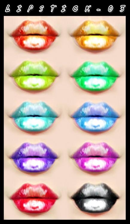 Decay Clown Sims: Lipstick 03