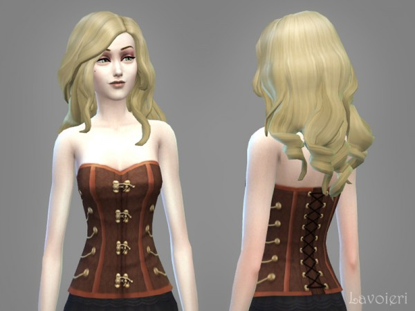 The Sims Resource: Steampunk Corset by Lavoieri Sims