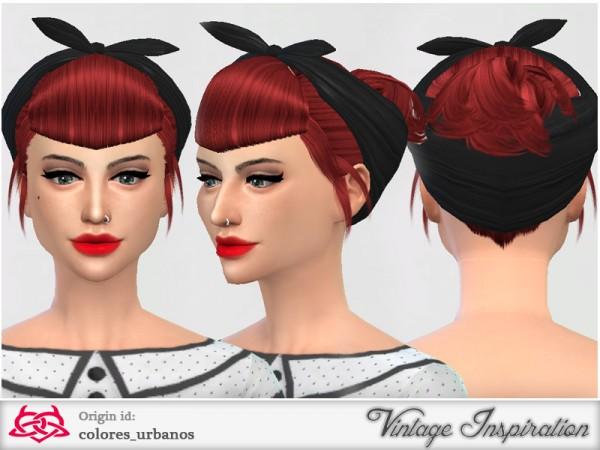 The Sims Resource: Set retro / alternative hair / bandana