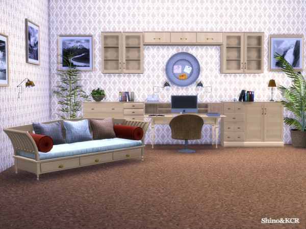 The Sims Resource: Potterybarn Homeoffice by ShinoKCR