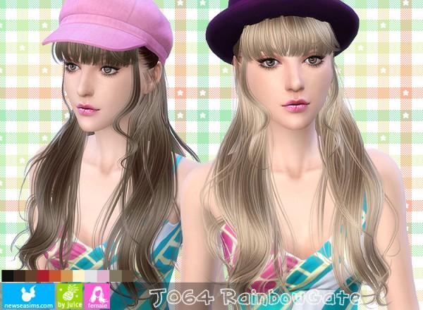 NewSea: J064 Rainbow gate hair