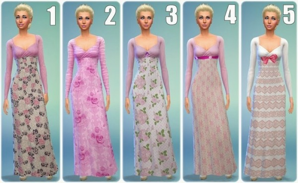 Annett`s Sims 4 Welt: Which dress suits Sleeping Beauty?