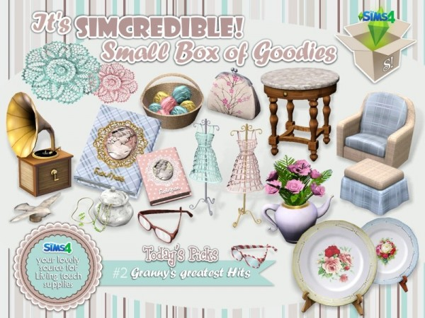 The Sims Resource: Grannys Greatest Hits by SIMcredible