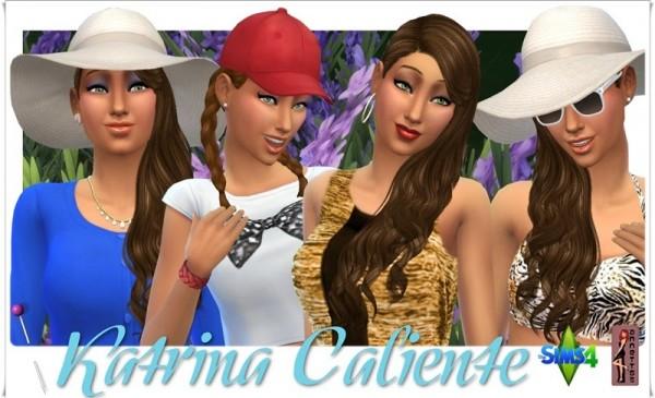 Annett`s Sims 4 Welt: Katrina Caliente
