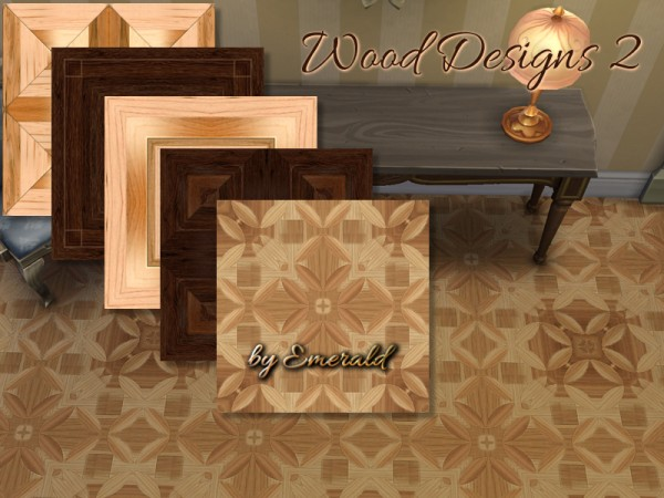 The Sims Resource: Wood Designs 2 by emerald