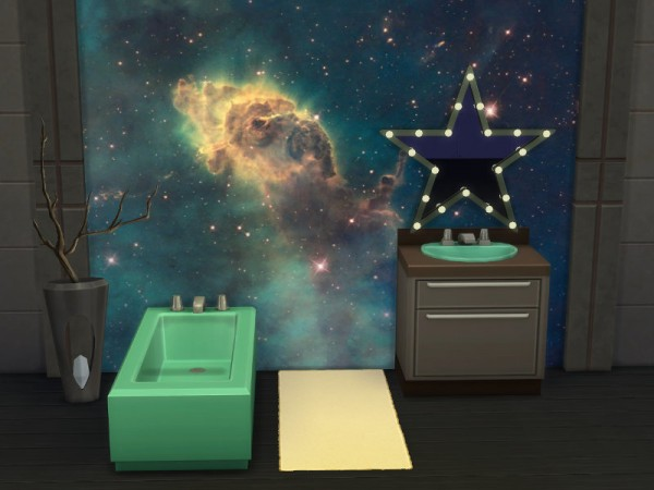 The Sims Resource Galaxy Walls By Leander Belgraves