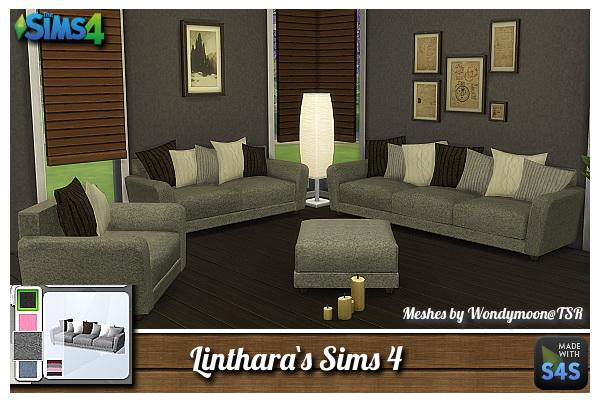 Lintharas Sims 4 Sofa