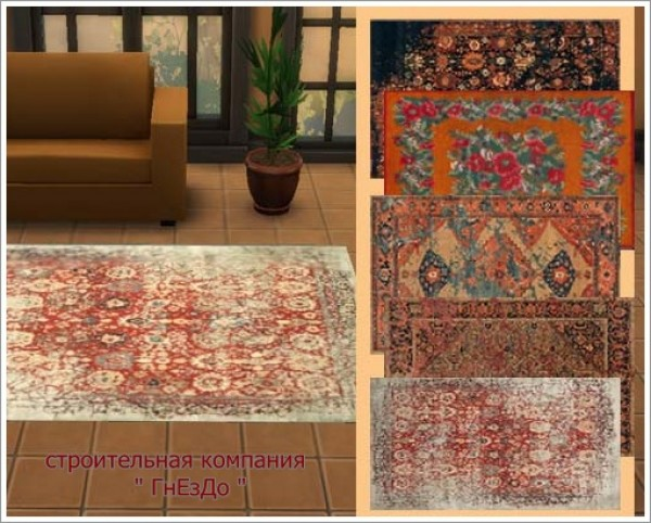 Sims 3 By Mulena Russian Luxury Rugs Sims 4 Downloads