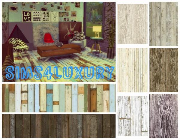 Sims4Luxury: Wood floor