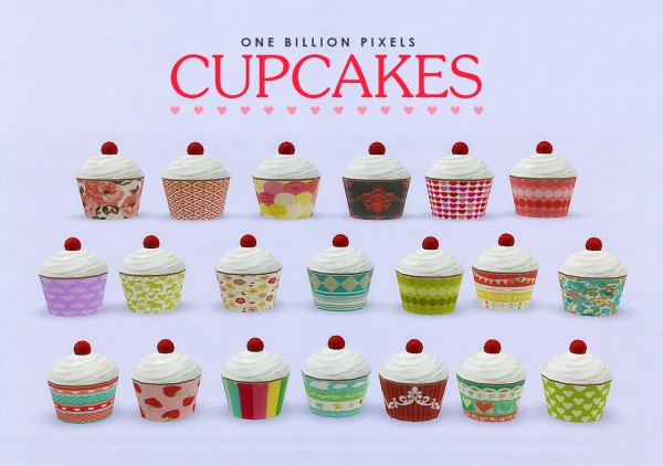 One Billion Pixels Cupcake Clutter Sims 4 Downloads
