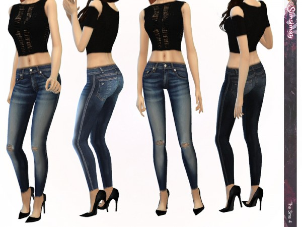 The Sims Resource: Street Fashion Mix & Match Set by Simsimay