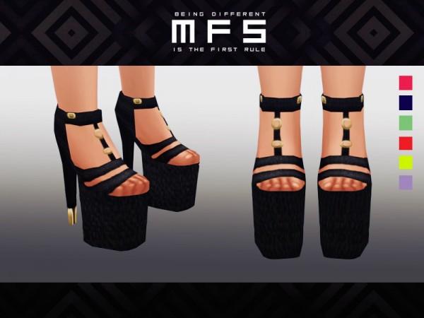 MissFortune Sims: Platform Shoes