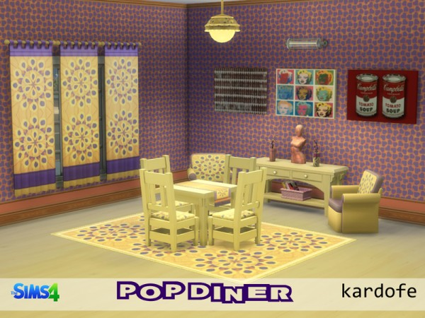 The Sims Resource: Pop Diner by Kardofe