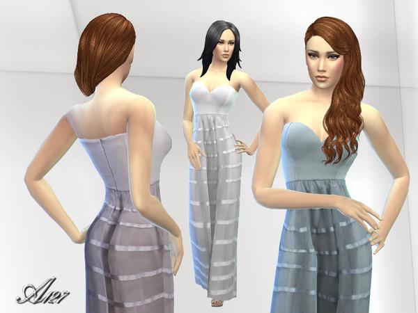 The Sims Resource: Nostalgia dress by ALtea127